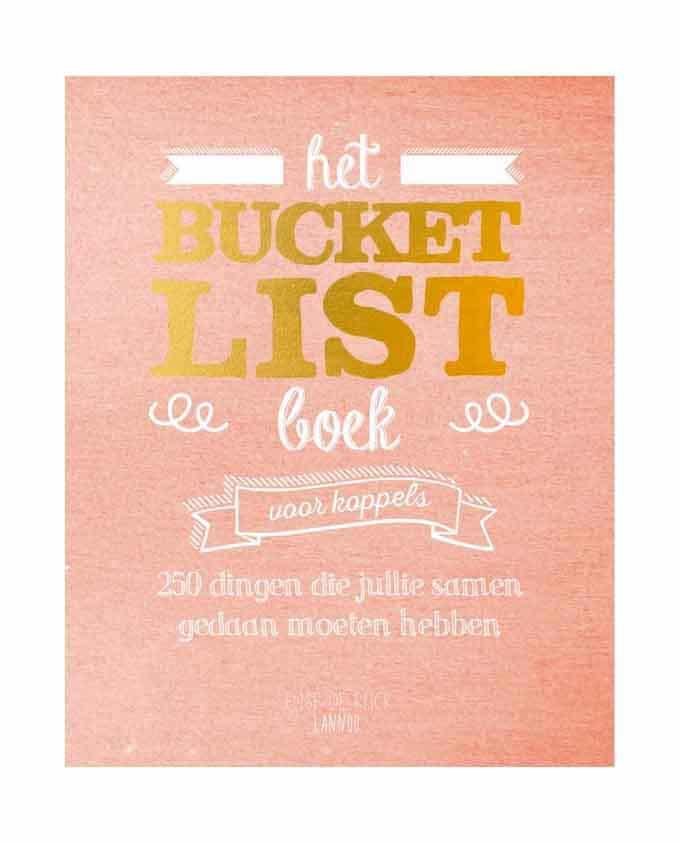 Het bucketlistboek voor koppels