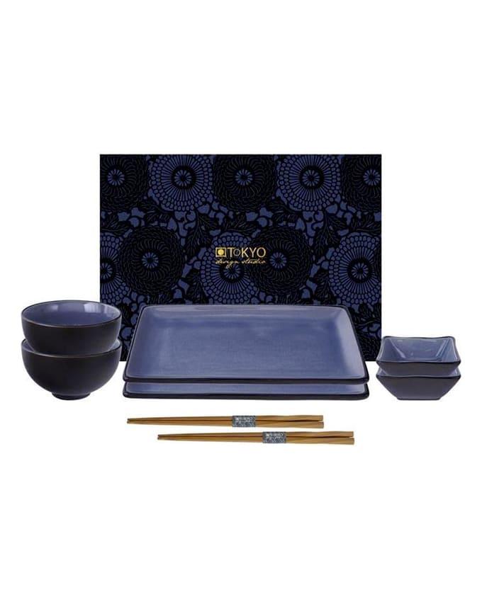 Tokyo Design Studio sushi Glassy Blue