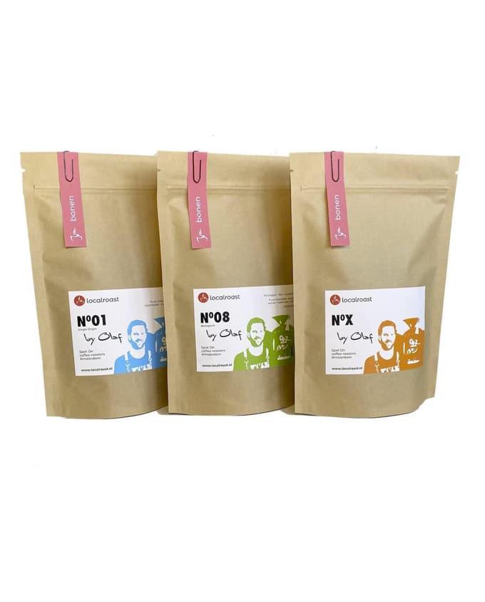 Koffiebonen proefpakket Localroast