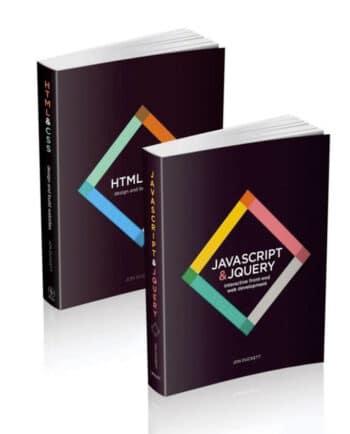 Webdesign-boeken van Jon Duckett