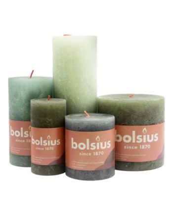 Stompkaarsen Bolsius duurzamer